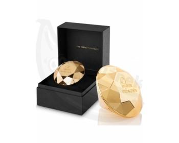 Fotka 1 - Pozlacený vibrátor Twenty One Diamond zlatá