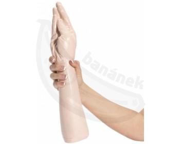 Fotka 1 - Dildo na fisting replika mužeské ruky tělová