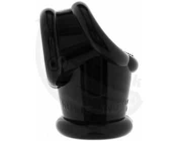Fotka 1 - Natahovač varlat s propojeným erekčním krouřkem černá