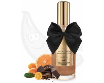 Fotka 1 - Jedlý masážní olej aroma čokoláda a citrusy