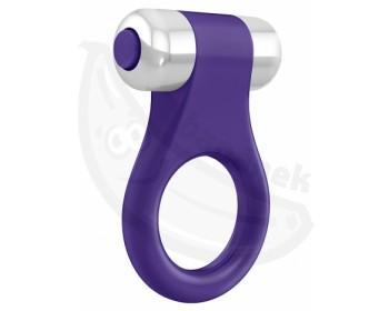 Fotka 1 - OVO B1 erekční kroužek vibrační fialový