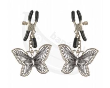 Fotka 1 - Svorky na bradavky ve tvaru motýlků