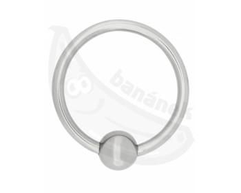 Fotka 1 - Kovový erekční kroužek pro lepší erekci stříbrná