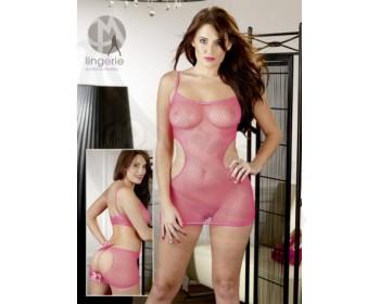 Fotka 1 - Růžový catsuit Mandy Mystery růžový