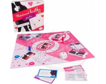 Fotka 1 - Nevinné hrátky pro dva erotická desková hra