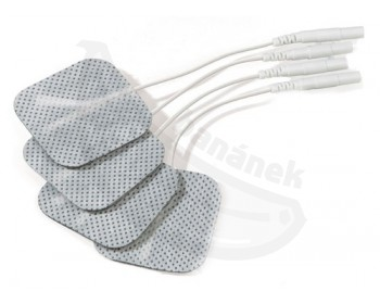 Fotka 1 - Přilnavé elektrody Mystim pro elektro stimulaci