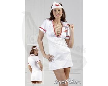 Fotka 1 - Kostým zdravotní sestřičky sexy bílý