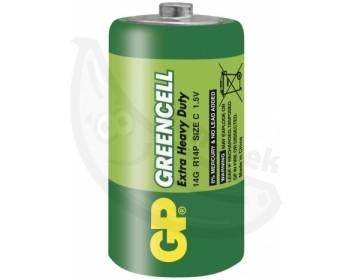 Fotka 1 - Baterie monočlánek C Green Power ZnCl