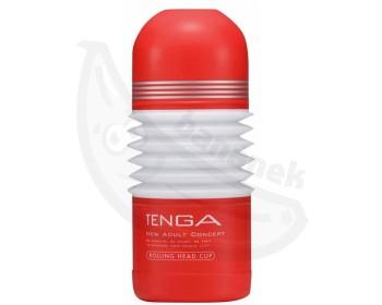 Fotka 1 - Tenga Rolling Head Cup masturbátor červeno bílá