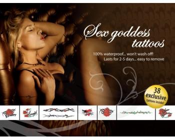 Fotka 1 - Sex Goddes Inspirativní erotická tetování černo rudo zelená
