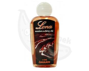Fotka 1 - Lona masážní olej s vůní čokolády