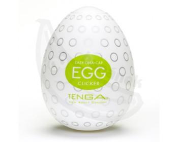 Fotka 1 - Tenga vajíčko Clicker masturbátor limetkově zelené