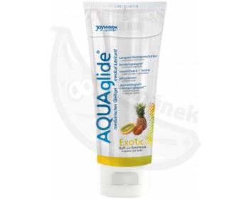 Fotka 1 - Lubrikační gel AquaGlide exotické ovoce