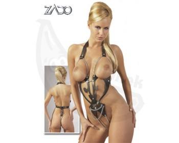 Fotka 1 - Kožené body Ornament černé