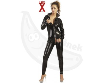 Fotka 1 - Latexový catsuit leskle černý