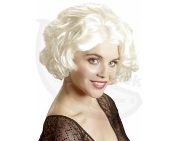 Fotka 1 - Dámská blond paruka ve stylu Marylin Monroe