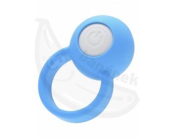 Fotka 1 - Modrý erekční kroužek VI-BO Ring Orb