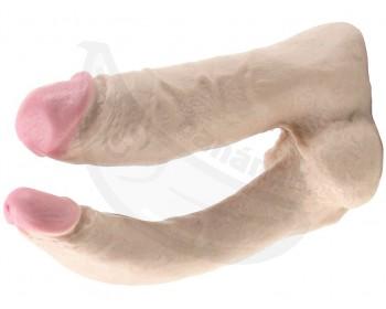 Fotka 1 - Dvojité realistické dildo Vac-U-Lock Double Penetrator