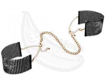 Fotka 1 - Luxusní černá pouta/náramky Désir Métallique Black černá