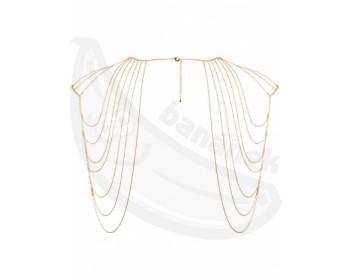 Fotka 1 - Zlaté řetízky na ramena Magnifique Gold