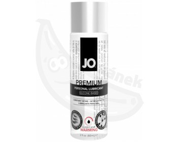 Fotka 1 - Silikonový lubrikant System JO Premium Warming (60ml) hřejivý