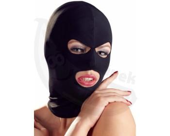 Fotka 1 - Černá maska s otvory univerzální