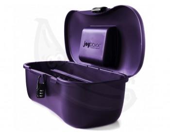 Fotka 1 - Hygienický kufřík Joyboxx na erotické pomůcky fialový