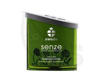 Fotka 1 - Masážní olejová svíčka (150ml) Swede Senze Vitalizing