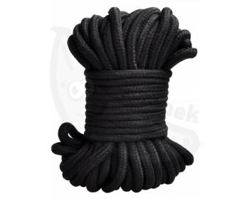 Fotka 1 - Černé bondage lano 20 m