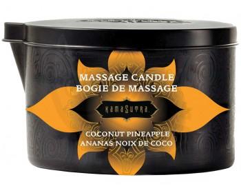 Fotka 1 - Masážní olejová svíčka aroma kokosu a ananasu