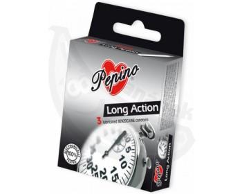 Fotka 1 - Kondomy Pepino Long Action (3 ks) pro oddálení orgasmu