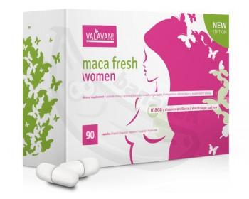 Fotka 1 - MACA FRESH Women (90 kapslí) pro sexuální a celkové zdraví žen
