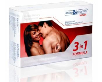 Fotka 1 - Andropharma Vigor na zvýšení libida a pro lepší erekci