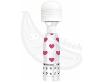 Fotka 1 - Mini masážní hlavice Bodywand Sweetheart s intenzivními vibracemi