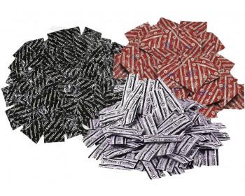 Fotka 1 - Balíček kondomů Durex LONDON - klasické, anální, jahodové, 50+6 ks zdarma