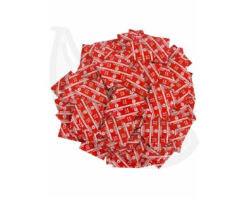 Fotka 1 - Balíček jahodových kondomů Durex LONDON 45+5 ks zdarma