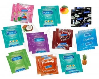 Fotka 1 - Balíček kondomů Pasante 18+2 ks zdarma