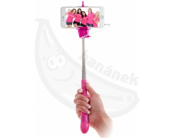 Fotka 1 - Selfie tyč s rukojetí ve tvaru penisu