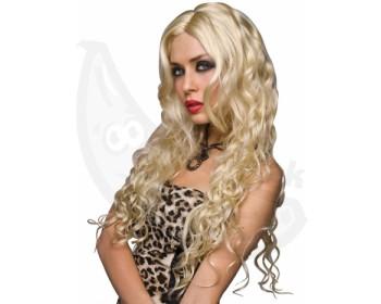 Fotka 1 - Dlouhá vlnitá blond paruka Jennifer