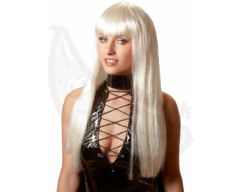 Fotka 1 - Dlouhá paruka Christina v platinové blond barvě