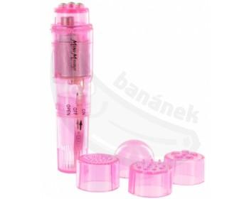 Fotka 1 - Mini vibrator Pocket Rocket růžový