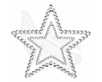 Fotka 1 - Samolepící ozdoby na prsa ve tvaru hvězd