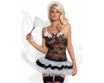Fotka 1 - Erotický kostým služebné Obsessive Housemaid