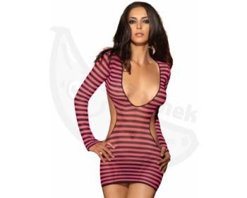 Fotka 1 - Sexy minišaty Leg Avenue s hlubokým výstřihem