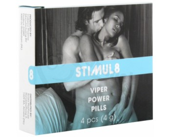 Fotka 1 - Tablety pro muže na posílení libida Viper Power Pills