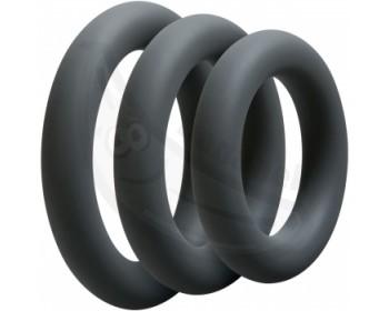 Fotka 1 - 3 erekční kroužky různých průměrů OptiMALE Thick