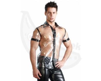 Fotka 1 - Pánská sexy košile Fancy Fashion průhledná