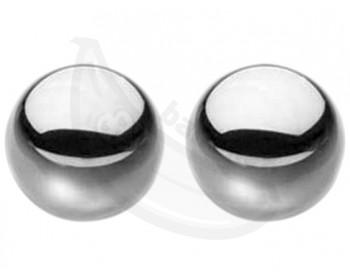 Fotka 1 - Dvě kovové venušiny kuličky z nerezové oceli