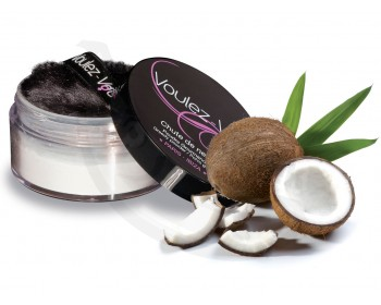 Fotka 1 - Jedlý tělový pudr Lady Snow s kokosovou příchutí