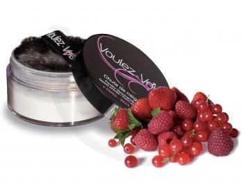 Fotka 1 - Jedlý tělový pudr Lady Snow s příchutí červeného ovoce